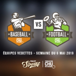 Visuel rencontre Baseball vs Football